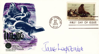 JANE LAPOTAIRE - FIRST DAY COVER SIGNED
