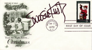 SWOOSIE KURTZ - FIRST DAY COVER SIGNED