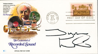 TYRON LEITSO - FIRST DAY COVER SIGNED
