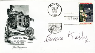 BRUCE KIRBY - FIRST DAY COVER SIGNED