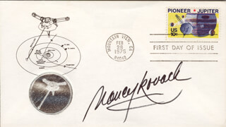 NANCY KOVACK - FIRST DAY COVER SIGNED