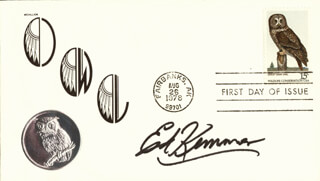 ED KEMMER - FIRST DAY COVER SIGNED