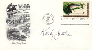 KATHRYN JOOSTEN - FIRST DAY COVER SIGNED