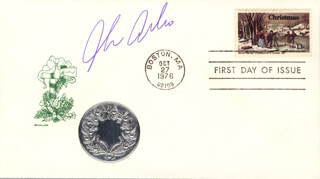 JULIE AREBALO - FIRST DAY COVER SIGNED