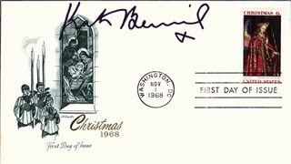 KATE BECKINSALE - FIRST DAY COVER SIGNED