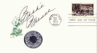 BOBBIE BRESEE - FIRST DAY COVER SIGNED