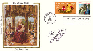 BLANCHE BAKER - FIRST DAY COVER SIGNED