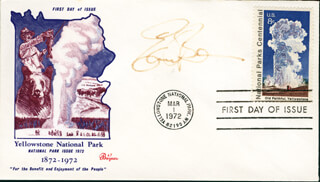 EARL BOEN - FIRST DAY COVER SIGNED