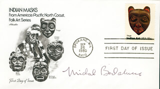 MICHAEL BADALUCCO - FIRST DAY COVER SIGNED
