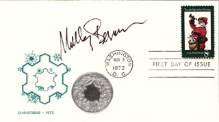 SHELLEY BERMAN - FIRST DAY COVER SIGNED