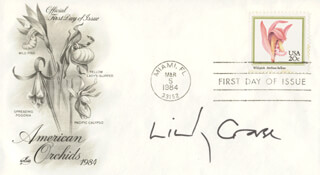 LINDSAY CROUSE - FIRST DAY COVER SIGNED