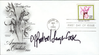 RACHAEL LEIGH COOK - FIRST DAY COVER SIGNED