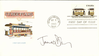 JAMES D'ARCY - FIRST DAY COVER SIGNED