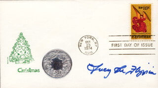 LUCY LEE FLIPPIN - FIRST DAY COVER SIGNED