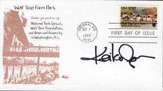 Autographs: KEIKO AGENA - FIRST DAY COVER SIGNED