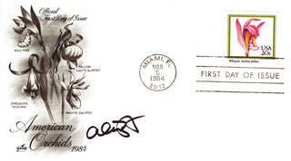 ALEX BORSTEIN - FIRST DAY COVER SIGNED