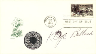 KAYE BALLARD - FIRST DAY COVER SIGNED