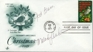 MELODY ANDERSON - FIRST DAY COVER WITH AUTOGRAPH SENTIMENT SIGNED