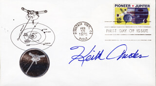 KEITH ANDES - FIRST DAY COVER SIGNED