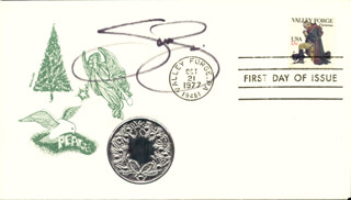 SCOTT BAIO - FIRST DAY COVER SIGNED