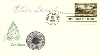 ELLEN BURSTYN - FIRST DAY COVER SIGNED