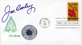 JOE CONLEY - FIRST DAY COVER SIGNED