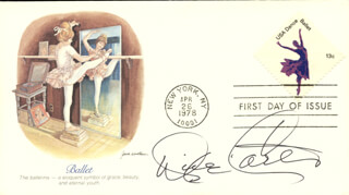 DIXIE CARTER - FIRST DAY COVER SIGNED