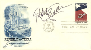 ROBERT FULLER - FIRST DAY COVER SIGNED