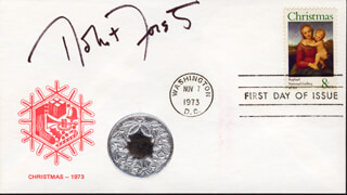 ROBERT FORSTER - FIRST DAY COVER SIGNED