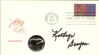 KATHRYN GRAYSON - FIRST DAY COVER SIGNED