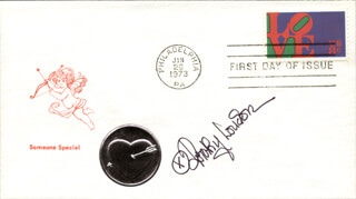 DOROTHY LOUDON - FIRST DAY COVER SIGNED