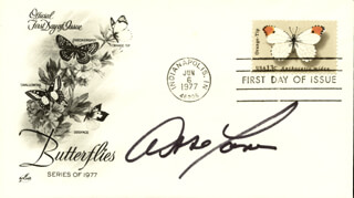 ABBE LANE - FIRST DAY COVER SIGNED
