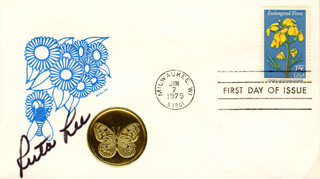 RUTA LEE - FIRST DAY COVER SIGNED