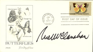 RUE McCLANAHAN - FIRST DAY COVER SIGNED