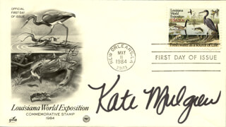 KATE MULGREW - FIRST DAY COVER SIGNED