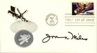 JOANNA MILES - FIRST DAY COVER SIGNED