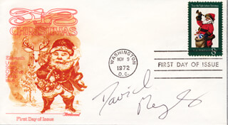 DAVID MEYER - FIRST DAY COVER SIGNED