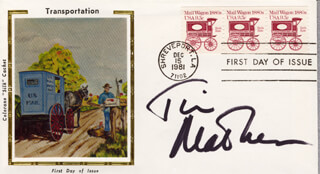 TIM MATHESON - FIRST DAY COVER SIGNED