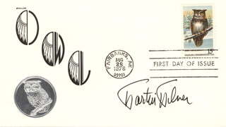 MARTIN MILNER - FIRST DAY COVER SIGNED