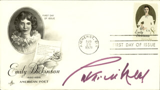 PATRICIA NEAL - FIRST DAY COVER SIGNED