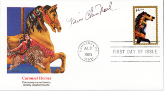 CHRIS NOEL - FIRST DAY COVER SIGNED