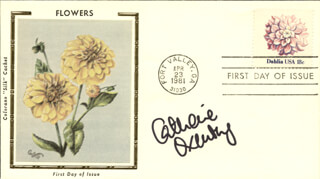 CATHERINE OXENBERG - FIRST DAY COVER SIGNED