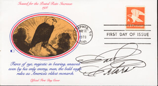 PAUL PETERSEN - FIRST DAY COVER SIGNED