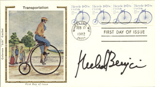 RICHARD BENJAMIN - FIRST DAY COVER SIGNED