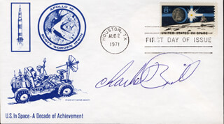 CHARLIE BRILL - FIRST DAY COVER SIGNED