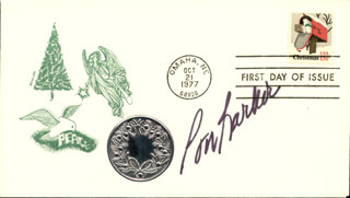 BOB BARKER - FIRST DAY COVER SIGNED
