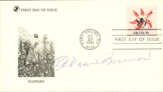 EILEEN BRENNAN - FIRST DAY COVER SIGNED