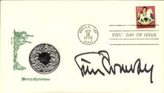 TIM CONWAY - FIRST DAY COVER SIGNED