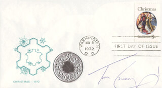 TOM CAVANAGH - FIRST DAY COVER SIGNED