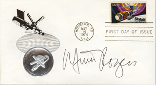 MIMI ROGERS - FIRST DAY COVER SIGNED